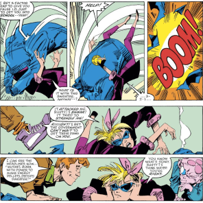 In Boom Boom's defense, shopping is terrible. (X-Factor #33)
