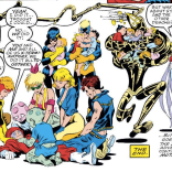 And they all lived happily ever--HA, NO, JUST KIDDING. GO READ NEW MUTANTS. (X-Terminators #4)