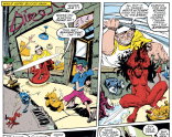 Calling it: Blevins's is my hands-down favorite take on Inferno-infested New York. (New Mutants #72)