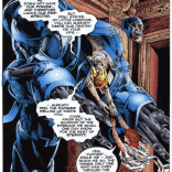 The mechanics of Apocalypse's body--and relative immortality--vary wildly from series to series. (The Adventures of Cyclops and Phoenix #2)
