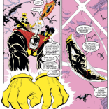 And now, a brief and delightful respite from the tragedy playing out in the A plot. (New Mutants #72)