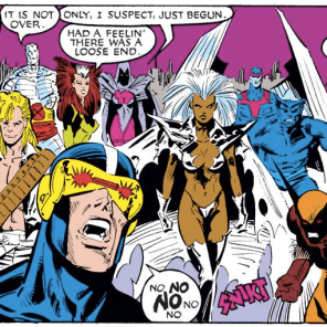 SUCKERS. You've still got three issues left! (Uncanny X-Men #242)