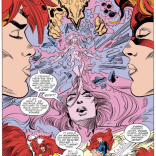 The most important relationship--and scenes--in Inferno are between Jean and Madelyne. I really wish we'd gotten more of the two of them together. (X-Factor #38)