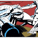 We didn't think of this until after the episode was recorded, but Illyana's final armored form bears a lot of resemblance to her brother's. (New Mutants #73)