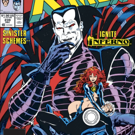 Perfect cover is perfect. (Uncanny X-Men #239)