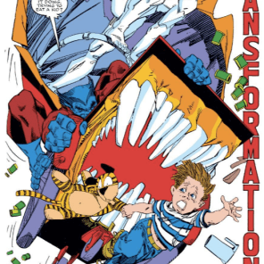And then a hot dog stand ate Calvin and Hobbes. (X-Factor #36)