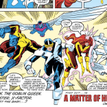 In a just world, every time you looked at this panel, heroic music would start playing. (X-Factor #36)