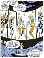 """Also, apparently they were really into Pinterest."" (Uncanny X-Men #239)"