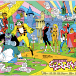 Check out the visual language on the body-swapped Excalibur and Crazy Gang. (Excalibur #5)