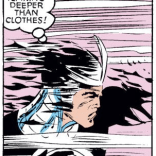 That's the cold wind of metaphor, Alex. (Uncanny X-Men #242)