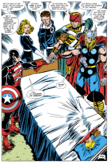 That one time the Avengers got back together in a tie-in to someone else's crossover event. (Avengers #300)