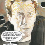 In which Havok transforms from James Dean to a young Peter Capaldi. (Havok & Wolverine: Meltdown #4)