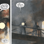 No narrative reason for including this. I just really, really love the art. (Havok & Wolverine: Meltdown #4)