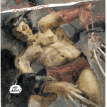 Ouch. (Havok & Wolverine: Meltdown #4)