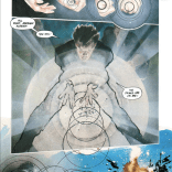 Move over, Neal Adams. This is our definitive representation of Havok's powers. (Havok & Wolverine: Meltdown #1)