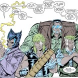 Okay, Liefeld's art is actually a ton of fun in this issue.