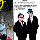 I mean, there's really no subtlety here. It's just straight-up the Blues Brothers. (X-Factor Annual #4)