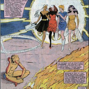 This narration? Yeah, the entire story's like this. And it is PERFECT. (Uncanny X-Men Annual #13)