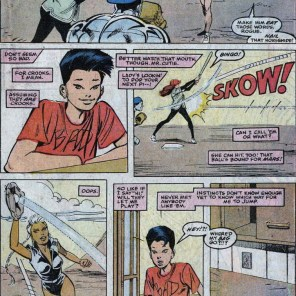 Amid all the motormouth bluster, Jubilee basically just wants friends. Aww, kid. (Uncanny X-Men Annual #13)