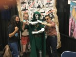 PEOPLE CAME AS BOOM BOOM AND DOCTOR DOOM IT WAS A COUPLE COSTUME IT WAS FANTASTIC