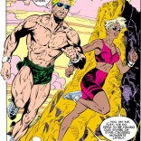 """This Jim Lee workout program has been working really well! Also, Ali, maybe you should start using sunscreen?"" (Uncanny X-Men #248)"