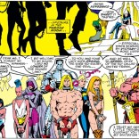 Suddenly, it's every notable Savage Land character ever! Hi, guys! (Uncanny X-Men #250)