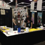 Miles and Al at our booth!