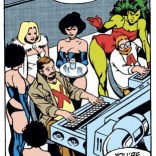 It's like the dog ending of Silent Hill II, but instead of shibas, you get Chris Claremont and John Byrne. (Excalibur #14)