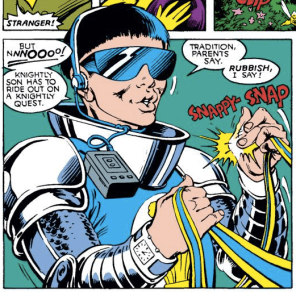 Lockheed, I don't think we're in Kansas anymore. (Excalibur #12)