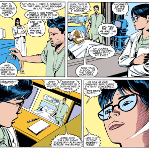 Emergency medicine must be a pretty different field in the Marvel Universe. (Uncanny X-Men #253)