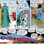 Except, wait, if this is just a super distant planet, then this ISN'T alt-Jean, except it still sort of is, and there's also the Lockheed and OH GOD WHAT'S EVEN HAPPENING (Excalibur #17)