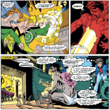 Well, that's unsettling on a lot of levels. (Excalibur #19)
