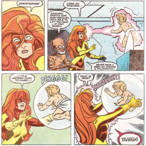 Well, that's awkward on a lot of levels. (X-Factor #48)
