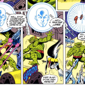 Professor X is a dick. (Spotlight on Starjammers #1)