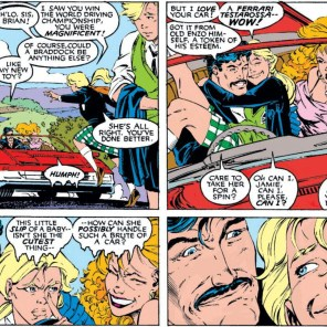 Jamie + Betsy = prooooobably best to be careful. (Uncanny X-Men #256)