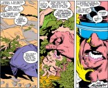 Starring Jack Nance as Strong Guy and Sheryl Lee as Dazzler. (Uncanny X-Men #259)