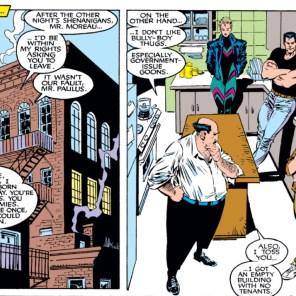 I love you, gruff-but-kindhearted-Eastern-European-guy! (Uncanny X-Men #259)