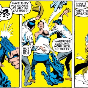 From stalking and attempted murder to slapstick comedy: Eric Beale, ladies and gents! (Uncanny X-Men #260)