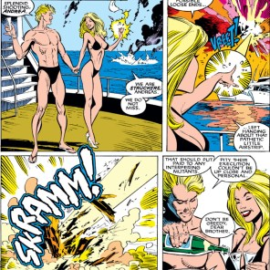 Andrea and Andreas von Strucker: the best at being the worst. (Uncanny X-Men #260)