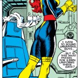 Jean speaks for us all. Better get used to these costumes - they'll be around for a while. (Uncanny X-Men #262)