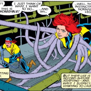 It's like the cover to X-Men vol. 2 #1 except BETTER IN EVERY WAY (Uncanny X-Men #263)
