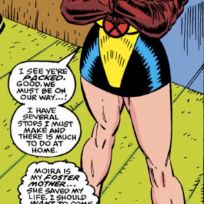 Evil!Sexy!Moira! (New Mutants #89)