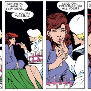 Well. That's... unambiguous. (Excalibur #24)