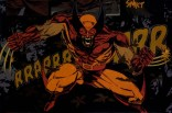 Wolverine violently poses forward! (Wolverine: Rahne of Terra)