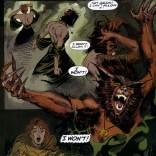 Andy Kubert draws a pretty kick-ass Werewolf Rahne. (Wolverine: Rahne of Terra)