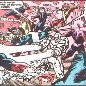 So much is happening in this panel! (X-Factor #58)