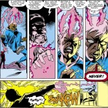 It's kind of arbitrary that the Shadow King and Storm are nemeses, but damn if it doesn't completely work. (Uncanny X-Men #266)