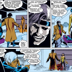 This, for the record, is the speech that Evil Lian Shen sees as being full of innuendo. (Uncanny X-Men #266)