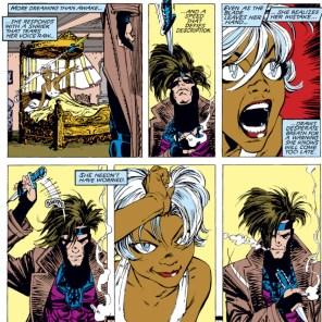 Okay, that's legitimately charming. (Uncanny X-Men #267)