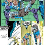 And then Cable fought robots so well that Rictor forgave him for killing his dad. (New Mutants #91)